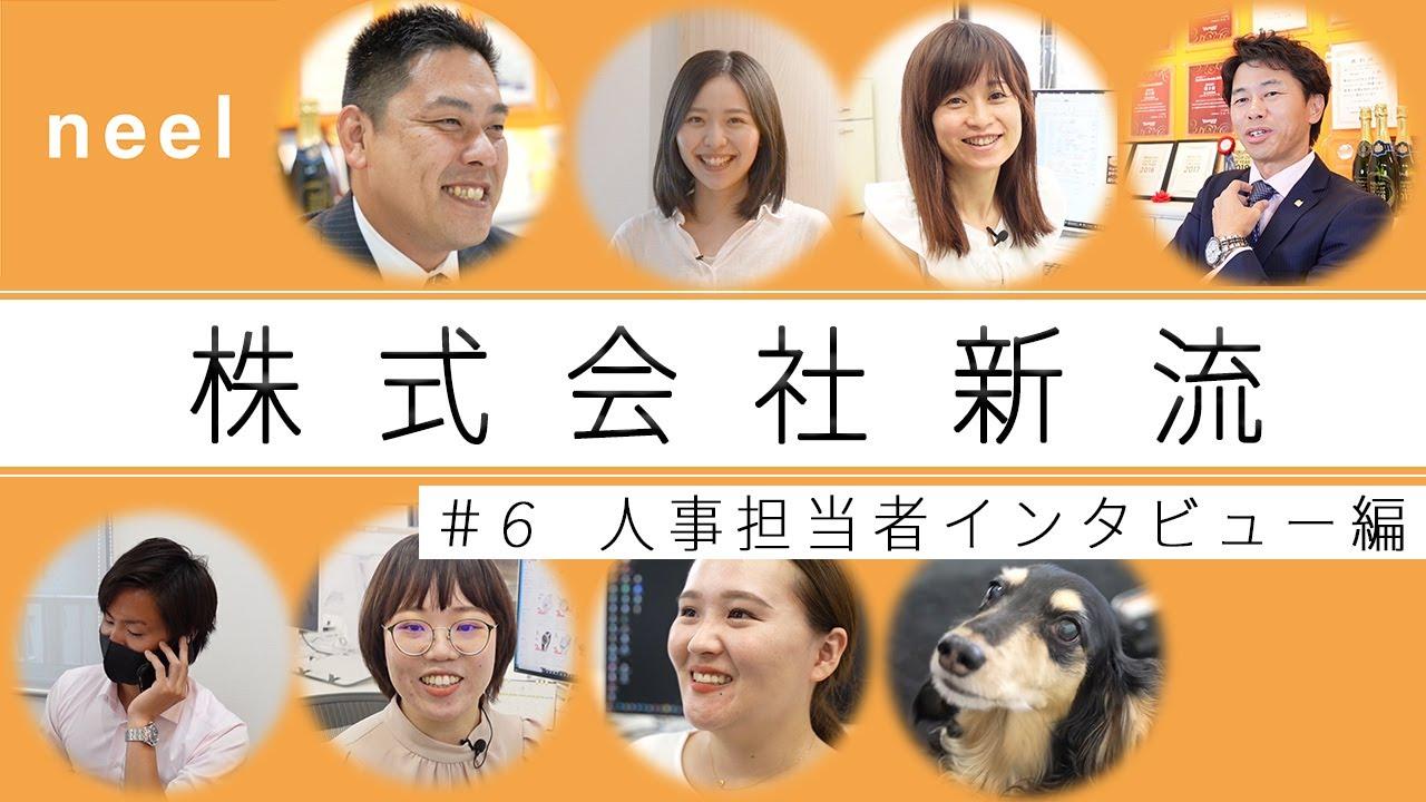 【株式会社新流】新卒採用動画 #6 人事担当者インタビュー 編